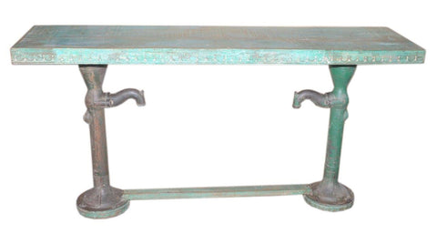 Pump Console Table