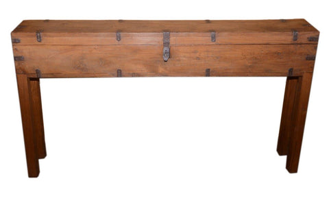 Box Console Table