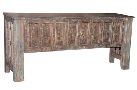 Antique Door Console Table