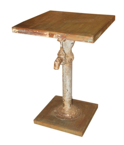 Hand Pump Side Table