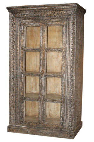 Antique Door Frame Cabinet