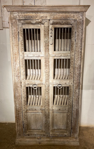 Antique Windows Armoire