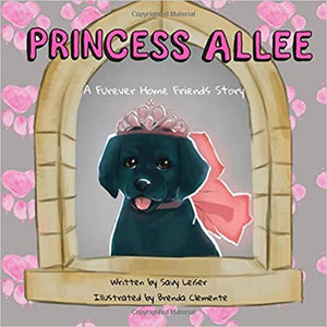 Princess Allee Black Lab Picture Book, Book About Dogs for Kids