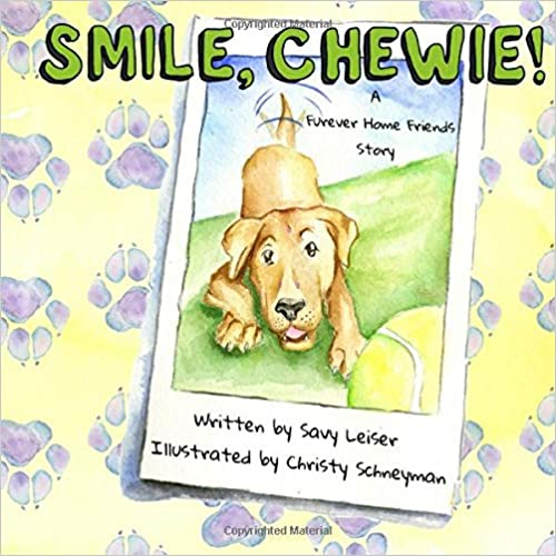 Smile, Chewie! signed paperback