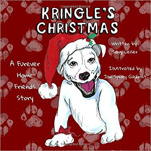 Kringle's Christmas signed paperback