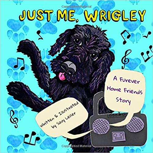 Just Me, Wrigley signed paperback