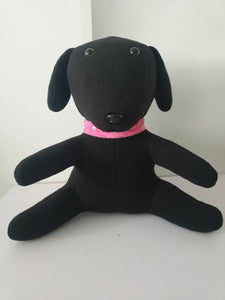Allee (Black Lab) Stuffed Animal