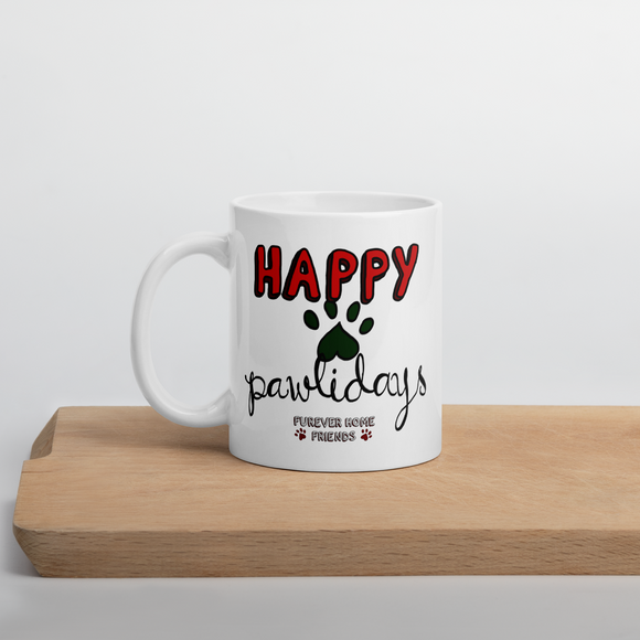 Happy Pawlidays MUG