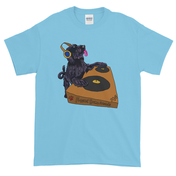 Doggie DJ T-Shirt: Adult Sizes