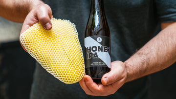 Honey IPA? Did we make a sweet India Pale Ale?