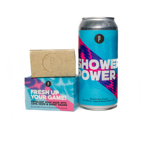 SHOWER POWER // FRESH UP YOUR GAME - Brussels Beer Project