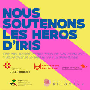 "Donate to ""Les Héros d'Iris"" - Brussels Beer Project"