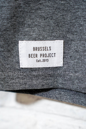 T-SHIRT Brussels Beer Project Beta Grey - Brussels Beer Project