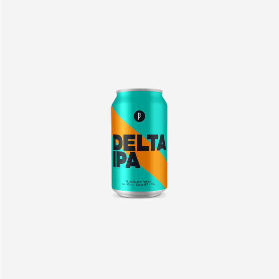Delta IPA Can - Brussels Beer Project