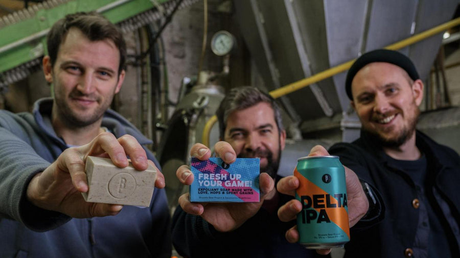 Soap BBP x Savonneries Bruxelloises - Brussels Beer Project