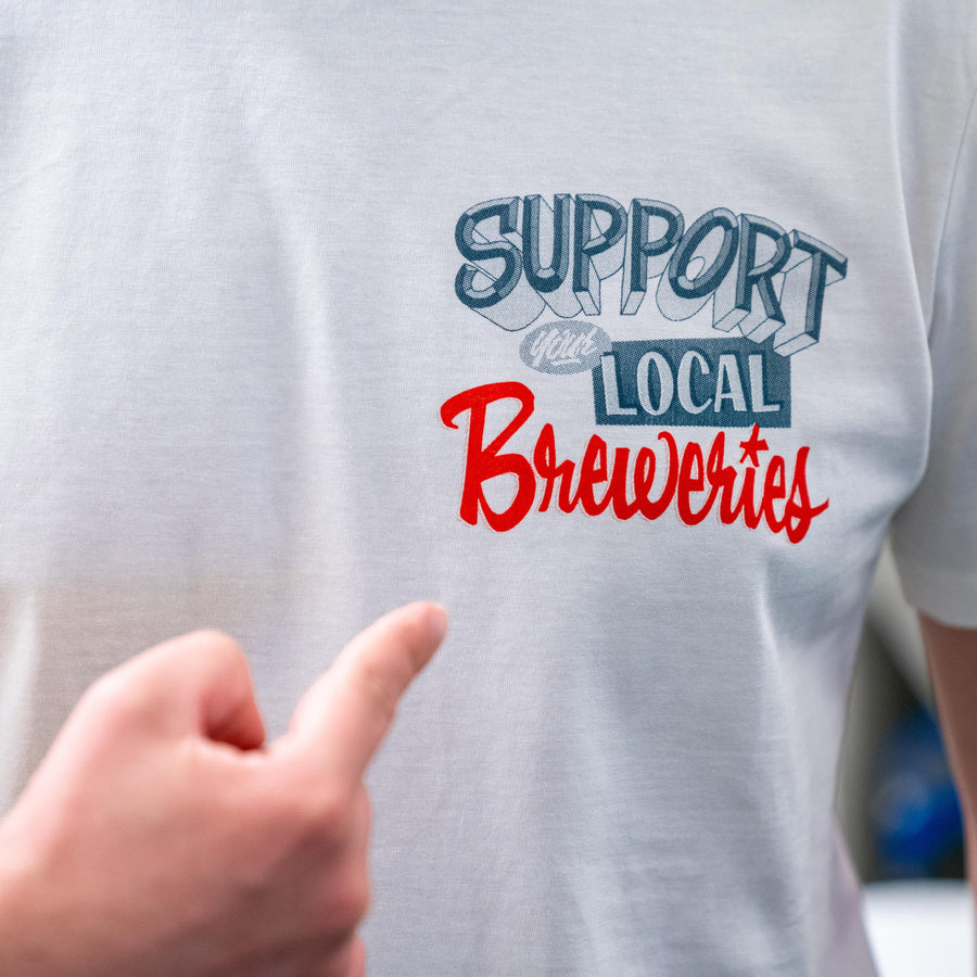T-SHIRT Support Your Local Breweries - Brussels Beer Project