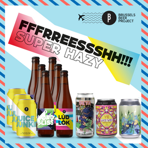 Fresh Hazy IPA Box - Brussels Beer Project