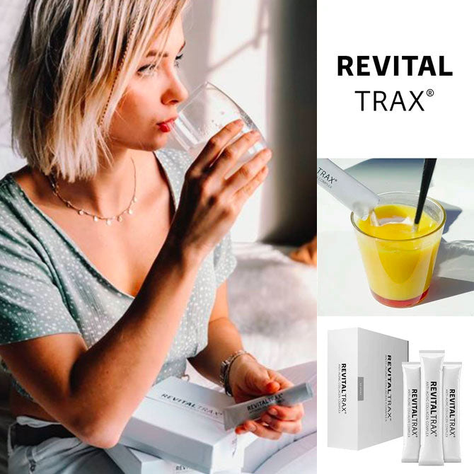 RevitalTrax Anti-Aging Collagen Complex resellers display