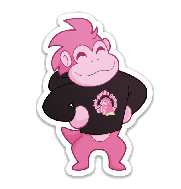 Sticker | Pink Gorilla Villager