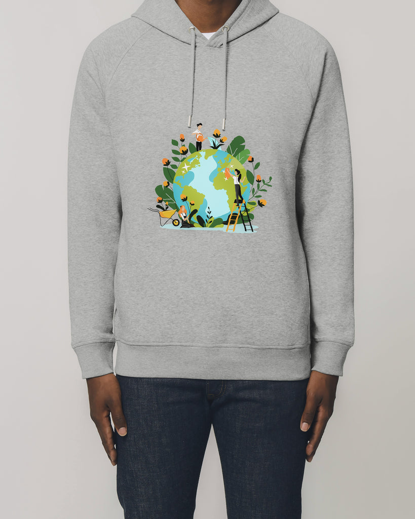 Earth Care - Organic Cotton Hoodie