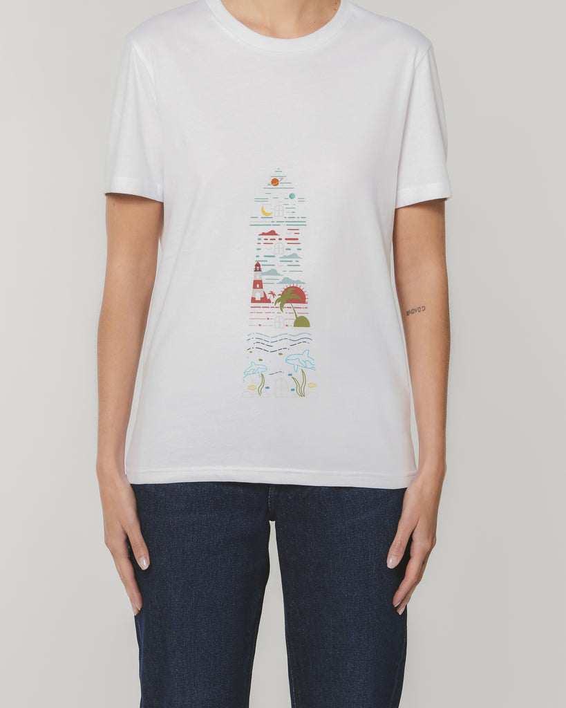 Lighthouse - Unisex Organic Cotton T-Shirt