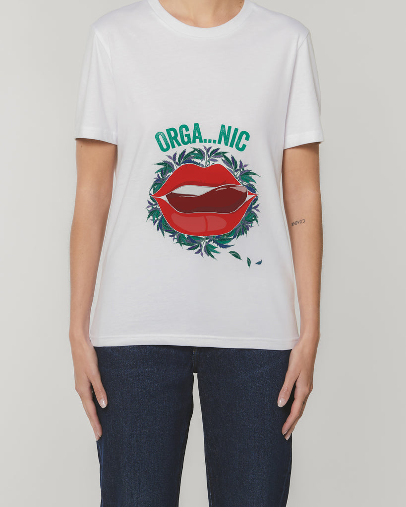 Organic Lips - Unisex Organic Cotton T-Shirt