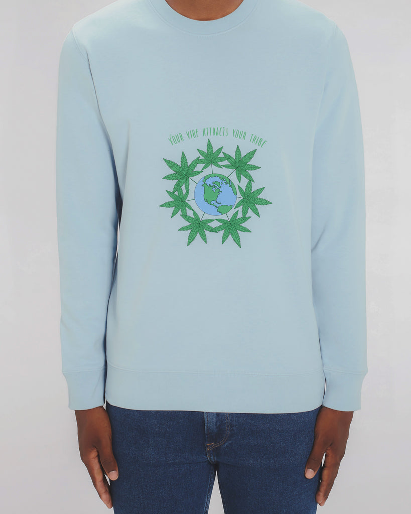 Your Vibe - Unisex Organic Cotton Sweatshirt