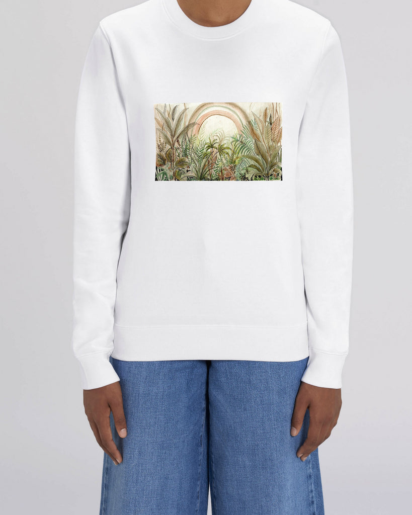 Jungle - Unisex Organic Cotton Sweatshirt