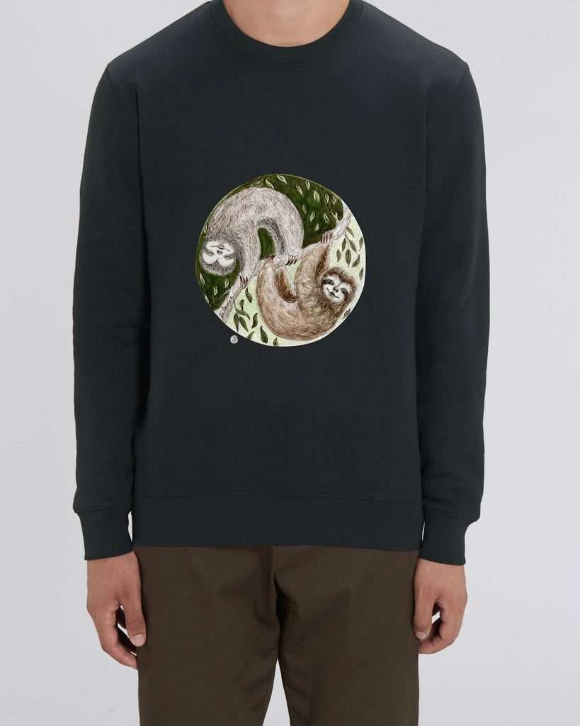 Lazy - Unisex Organic Cotton Sweatshirt