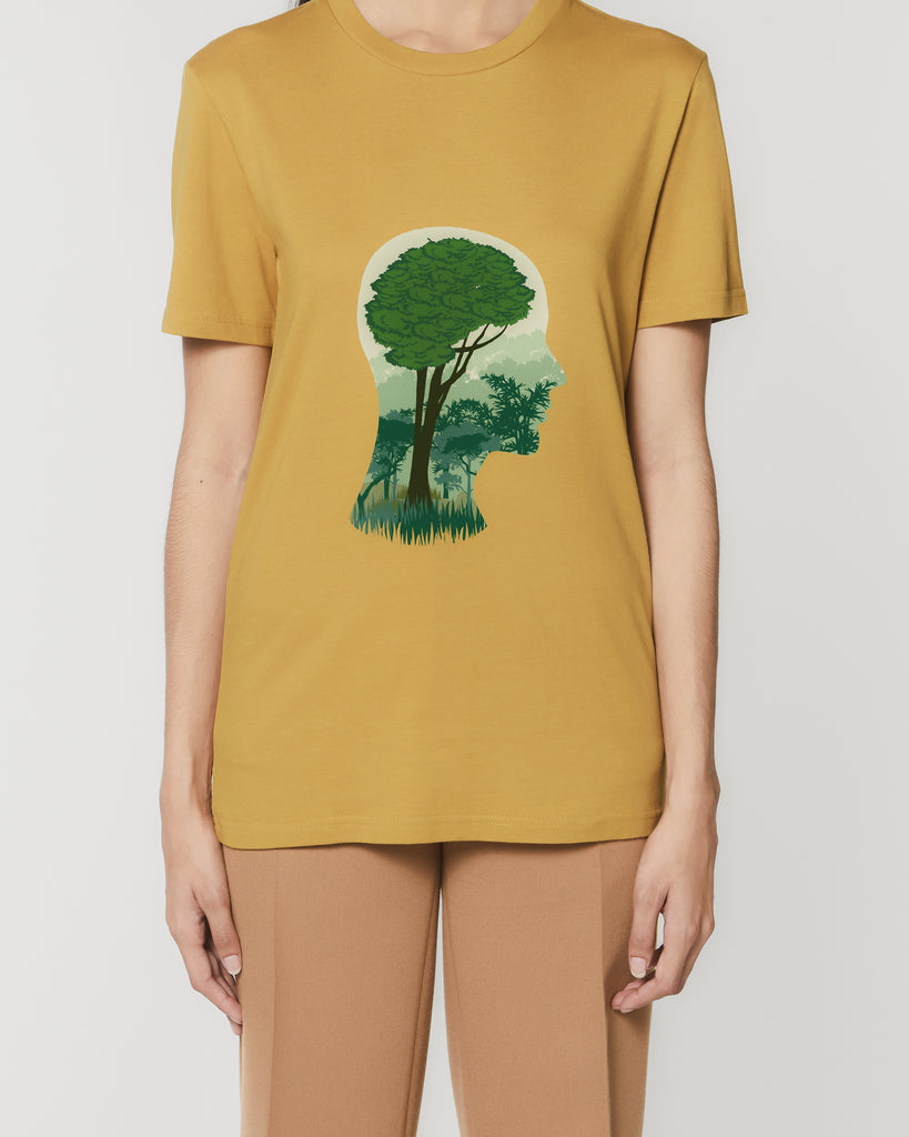 Brain Tree - Unisex Organic Cotton T-Shirt
