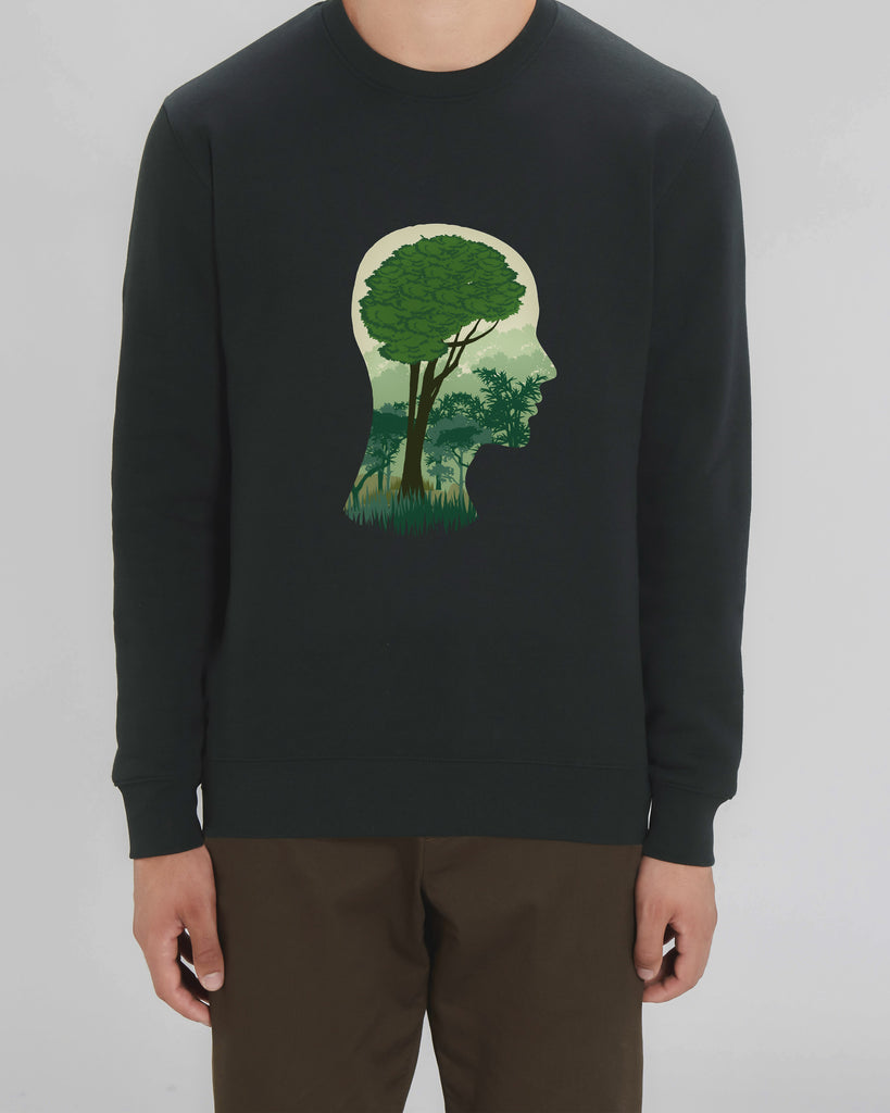 Brain Tree - Unisex Organic Cotton Sweatshirt