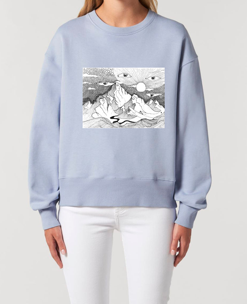 Mountains - Unisex Relaxed Fit Sweatshirt