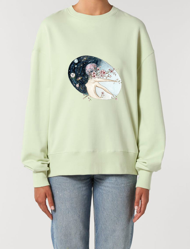 Flower Moon - Unisex Relaxed Fit Sweatshirt