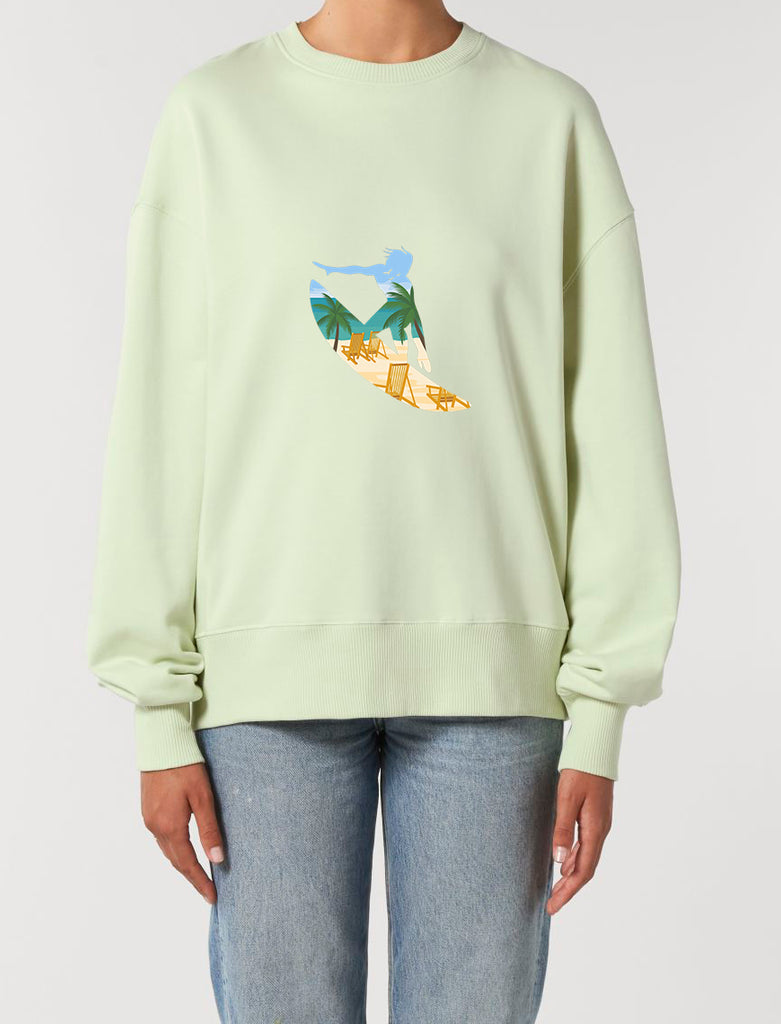 Surfers Paradise - Unisex Relaxed Fit Sweatshirt