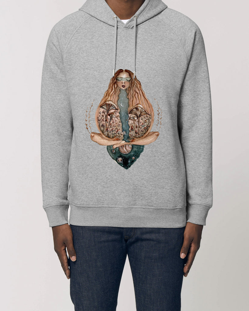The night - Unisex Organic Cotton Hoodie
