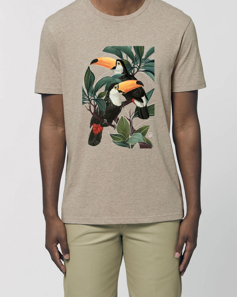 Toucans - Unisex Organic Cotton T-Shirt
