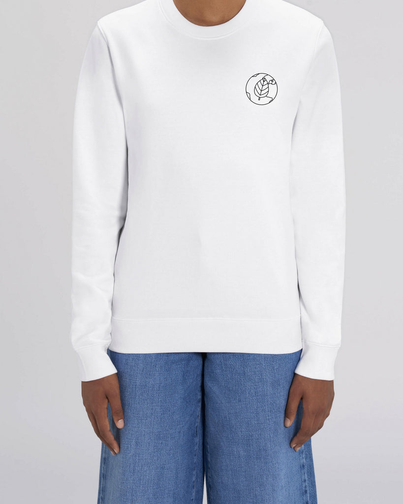 Leaf Power - Unisex Organic Cotton Sweatshirt