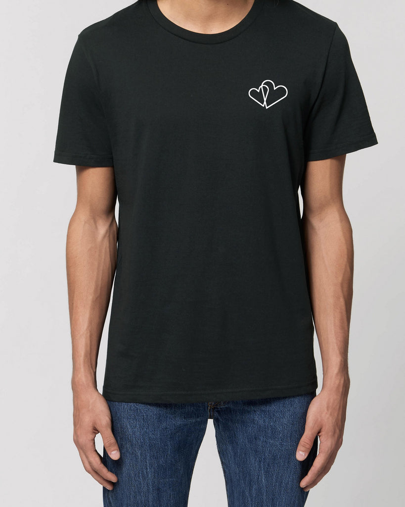 Two Hearts - Unisex Organic Cotton T-Shirt