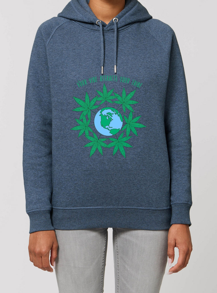 Your Vibe - Unisex Organic Cotton Hoodie