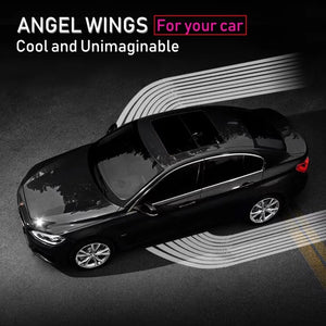 Angel Wings Car Welcome Light