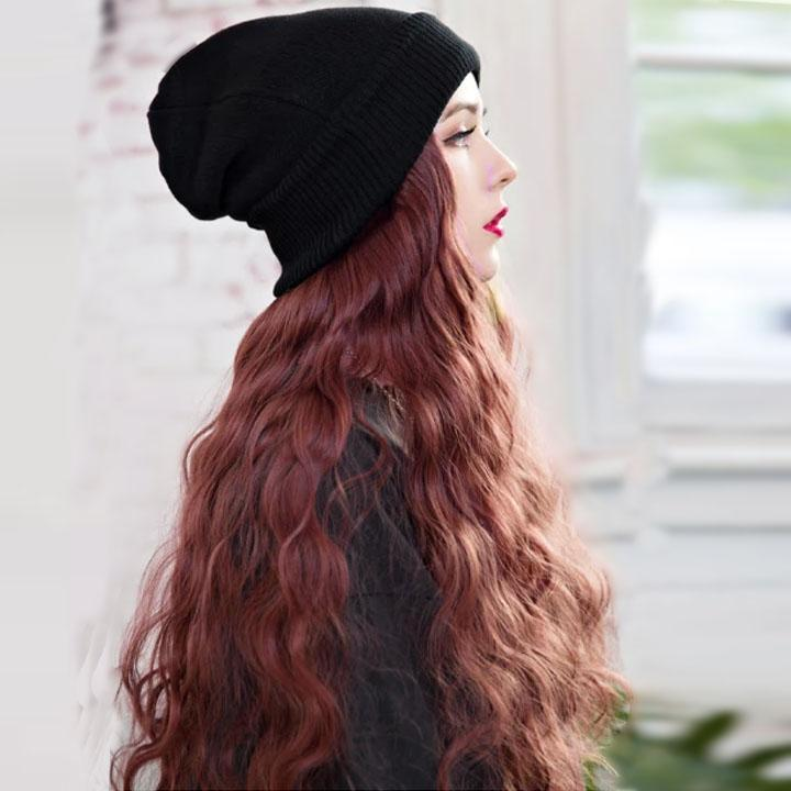 Final promotion,Hurry up! 💕Winter Hair Wig hat- Free Shipping💕(With color chart)