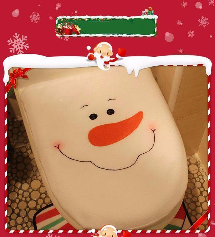 🎄3 in 1 Christmas Toilet Seat Cover Set🎄(2 Piece Free Shipping)
