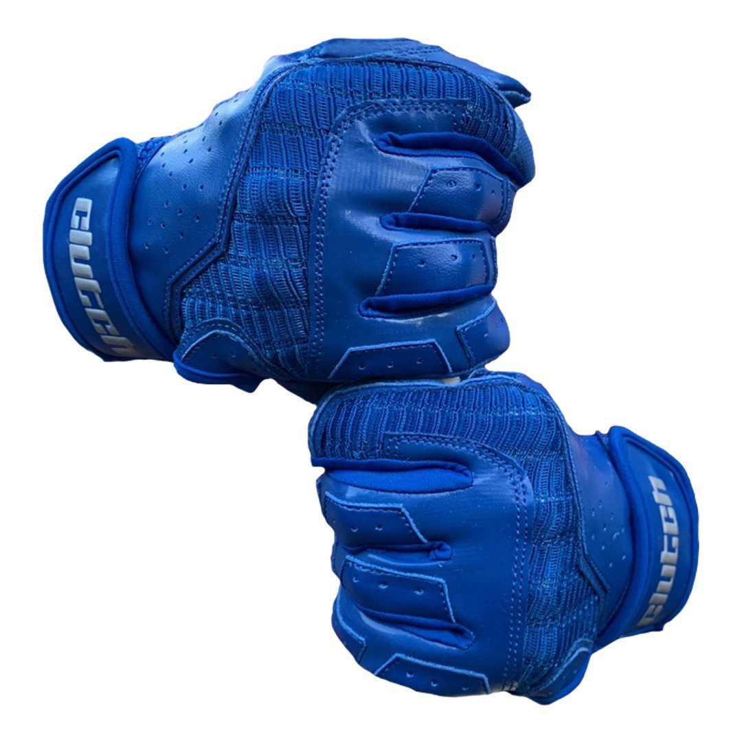 Pro Blue Batting Gloves