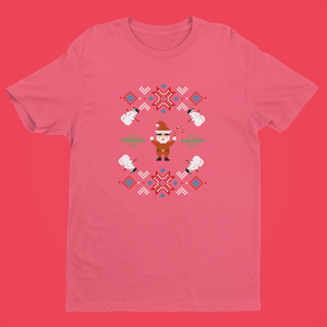 Load image into Gallery viewer, Ugly Christmas Santa Tee - LV Strip Tees