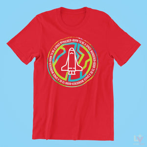 Load image into Gallery viewer, Born to Be a Space Wanderer Tee - LV Strip Tees