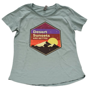 Load image into Gallery viewer, Desert Sunsets are Better Tee - LV Strip Tees