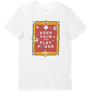 Load image into Gallery viewer, Keep Calm and Play Poker Tee - LV Strip Tees