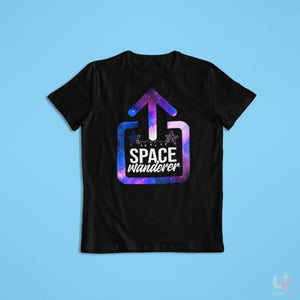 Load image into Gallery viewer, Space Wanderer Astro Tee - LV Strip Tees
