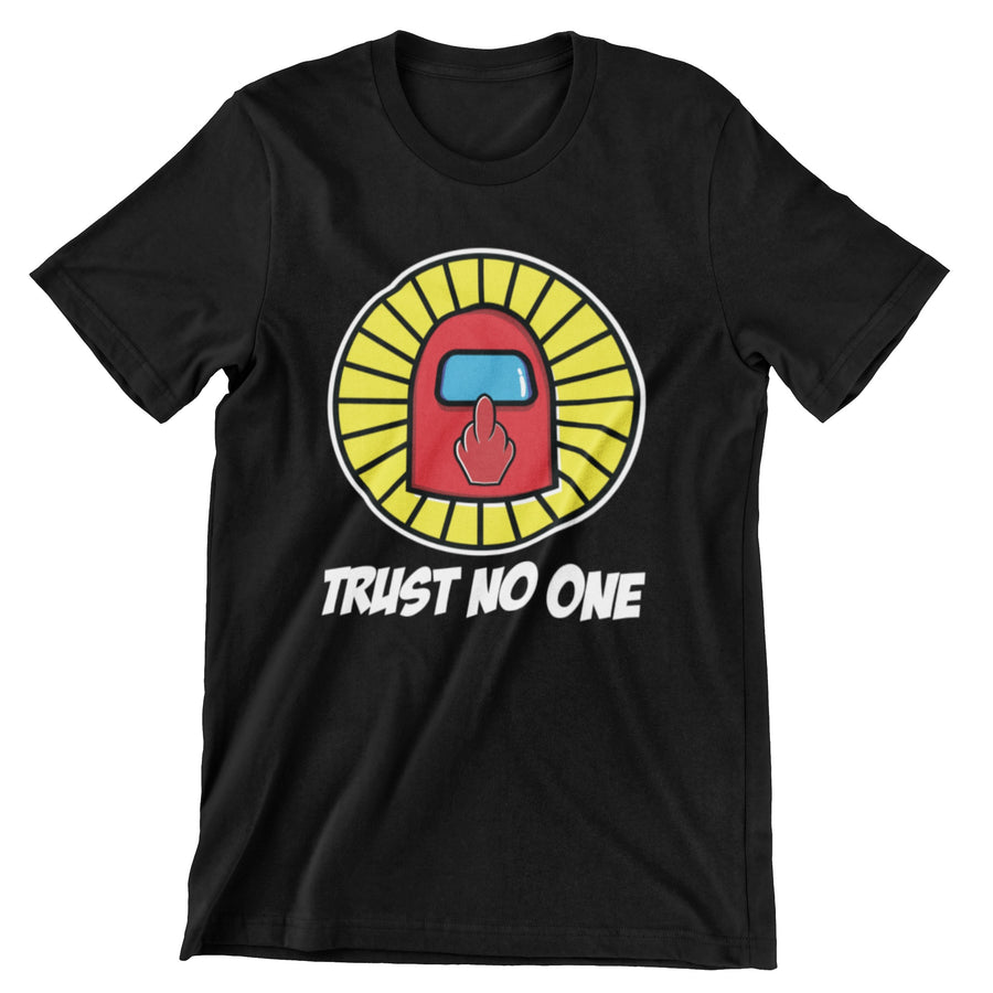 Trust No One Tee - LV Strip Tees