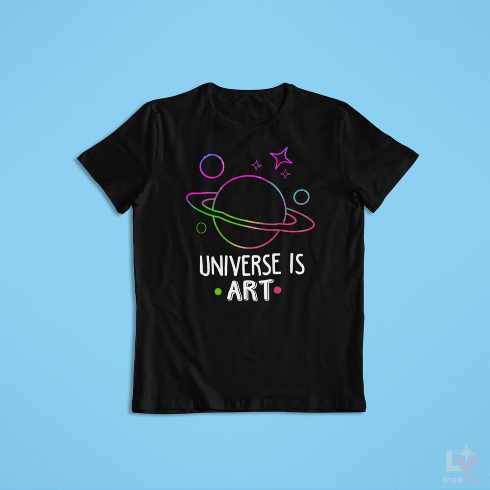 Universe is Art Astro Tee - LV Strip Tees